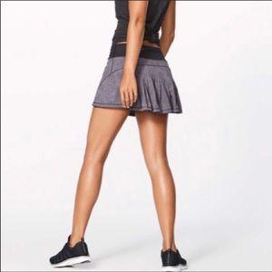 Lululemon Speckled Pleated Tennis Skirt